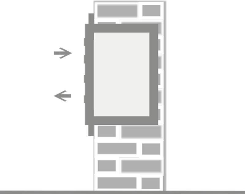 3er unterputz briefkasten edelstahl post liegend neu. Black Bedroom Furniture Sets. Home Design Ideas
